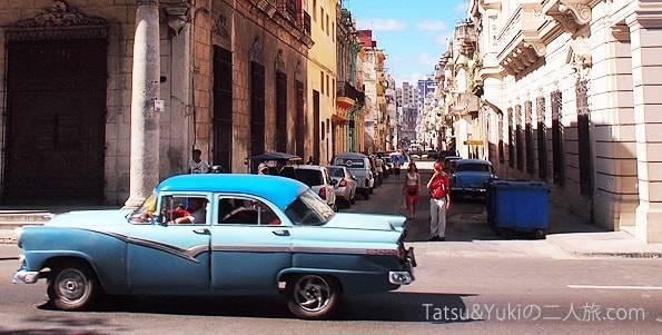 キューバ・オールドハバナのクラシックカー