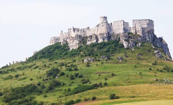世界遺産「スピシュ城 (スピシュスキー城)」