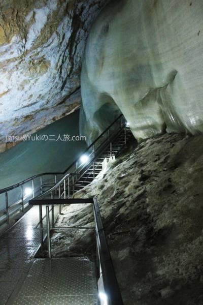 世界遺産「ドブシンスカ氷穴 (dobsinska ice cave)」