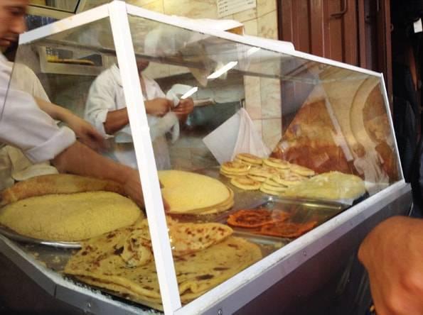 モロッコのパンケーキ