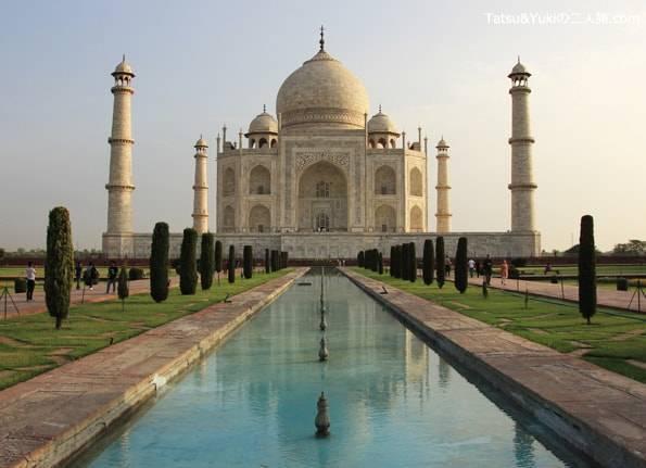 インドの世界遺産タージマハル