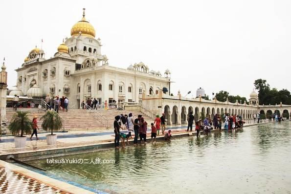 シク教寺院「グラッドワーラ・バングラサーヒブ」