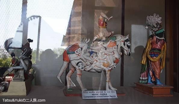 インド・ジャイプール(中央博物館(アルバートホール))