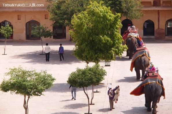 インド・ジャイプール(アンベール城)