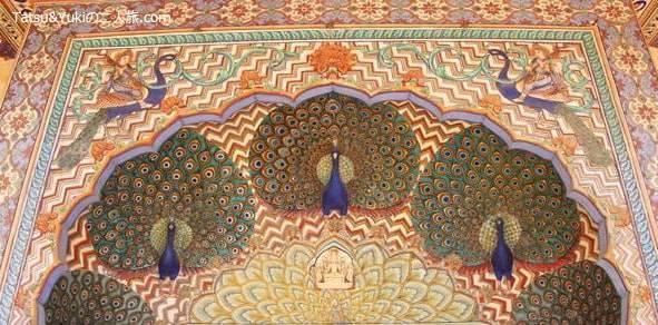インド・ジャイプール(宮殿「シティ・パレス」)