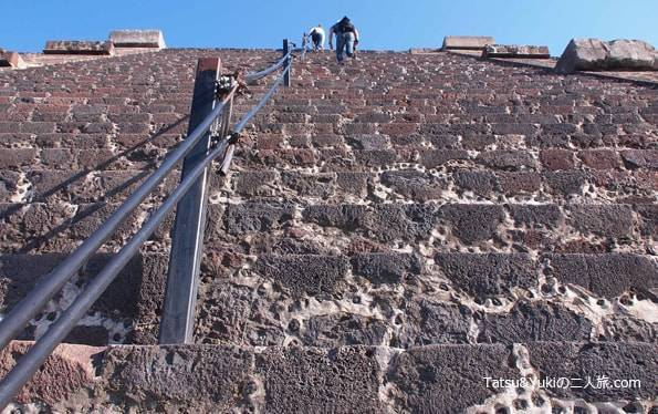 メキシコシティのテオティワカン遺跡
