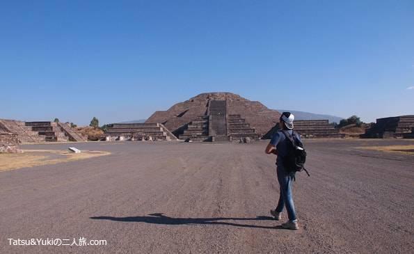 メキシコのテオティワカン遺跡
