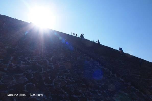 メキシコテオティワカン遺跡