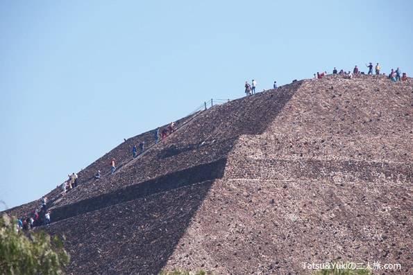 メキシコのピラミッド世界遺産テオティワカン
