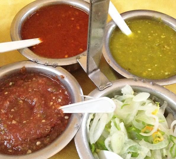 メキシコ料理の辛いソース