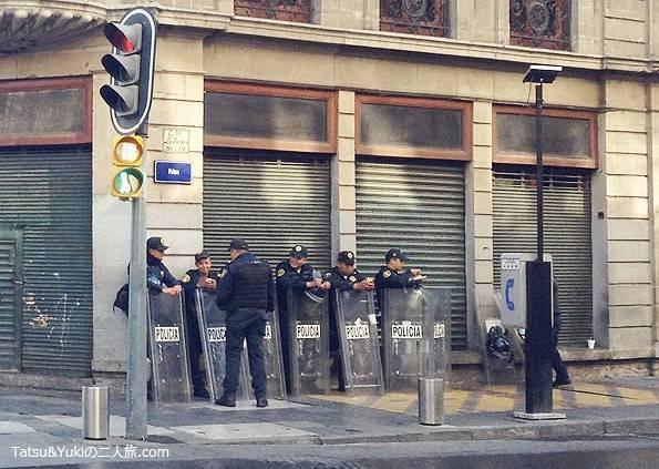 メキシコシティの警察