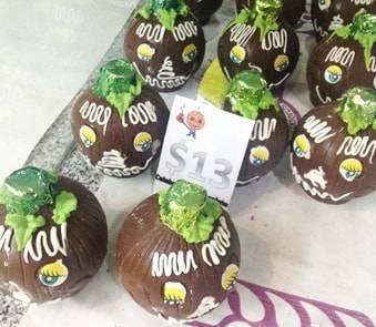 メキシコ死者の日のチョコレート