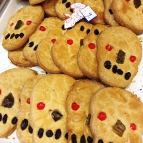 メキシコシティのガイコツクッキー