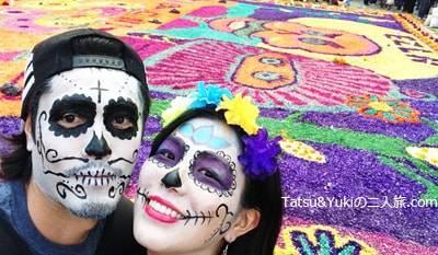 メキシコシティーの死者の日