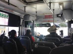 グアナファトのローカルバス