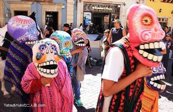 メキシコのグアナファトの死者の日