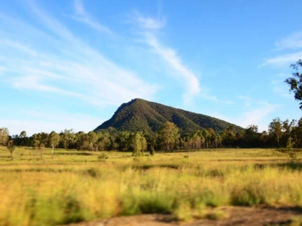 スタンソープ(Stanthorpe)からブリスベン(Brisbane)での道で見た景色