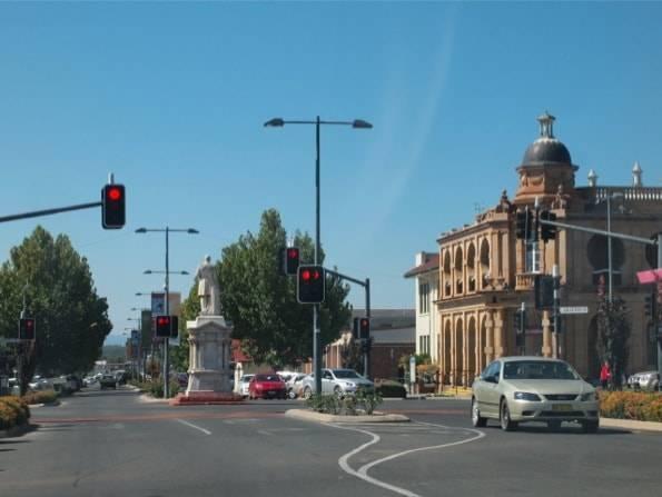 """オーストラリア・スタンソープの隣街""""Warwick"""""""