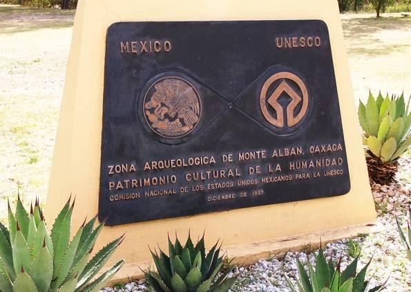メキシコ・オアハカの世界遺産モンテアルバン遺跡