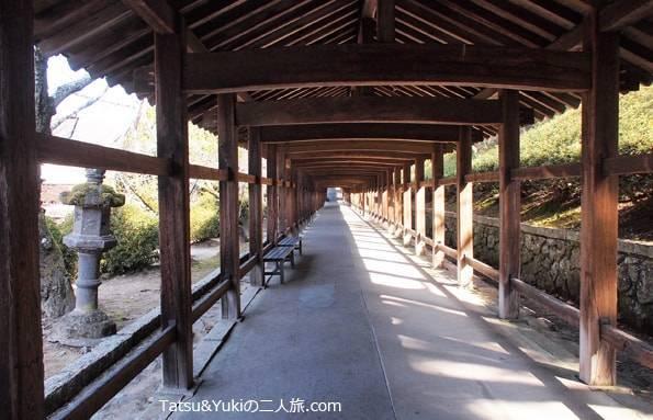吉備津神社回廊