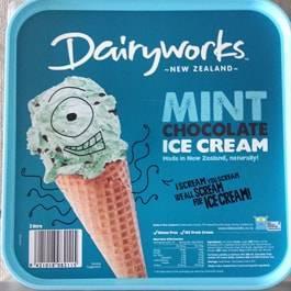 ニュージーランドのチョコミントアイスクリーム
