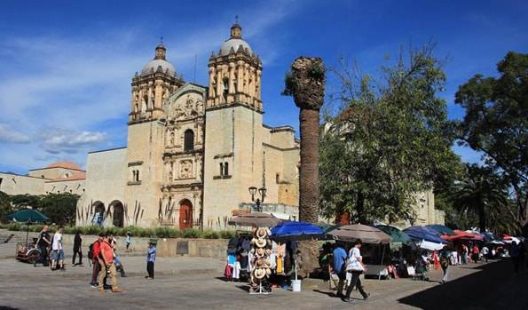 サント・ドミンゴ寺院(Templo de Santo Domingo de Guzman)