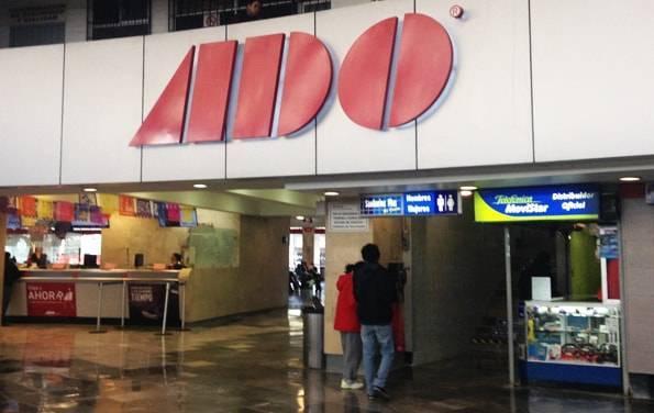 """メキシコシティからオアハカへの移動で利用したバス""""ADO"""""""