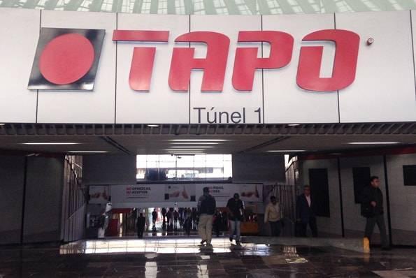"""メキシコシティの東ターミナル""""TAPO"""""""