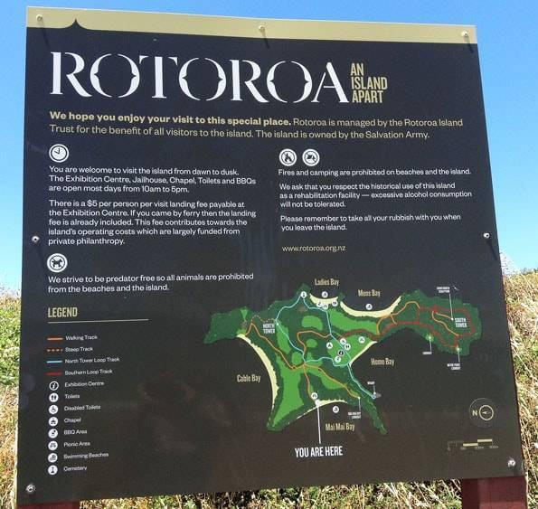 ニュージーランド・オークランド・ロトロア島 (Rotoroa Island)