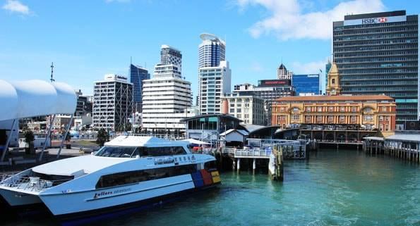 ニュージーランド・オークランドの島観光
