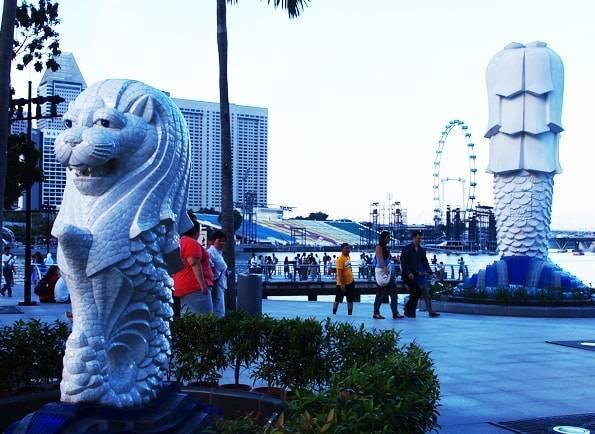 3大ガッカリマーライオン・シンガポール
