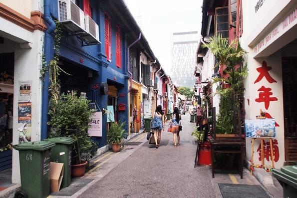 ハジ・レーン (Haji Lane)・シンガポール