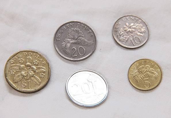シンガポールの硬貨・コイン