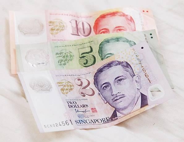 シンガポールのお札