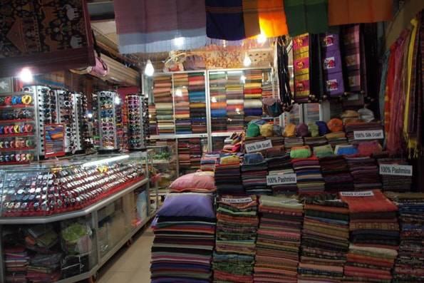カンボジアのシェムリアップのオールドマーケット