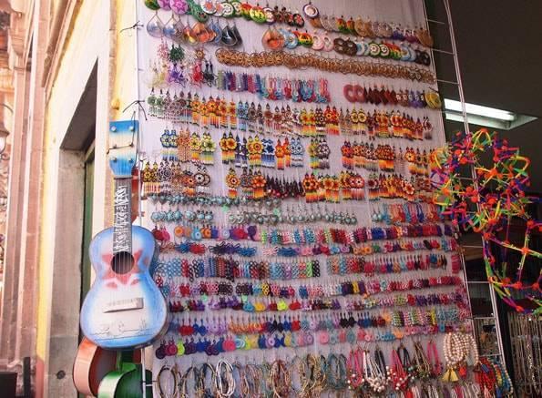 メキシコのお土産ピアス