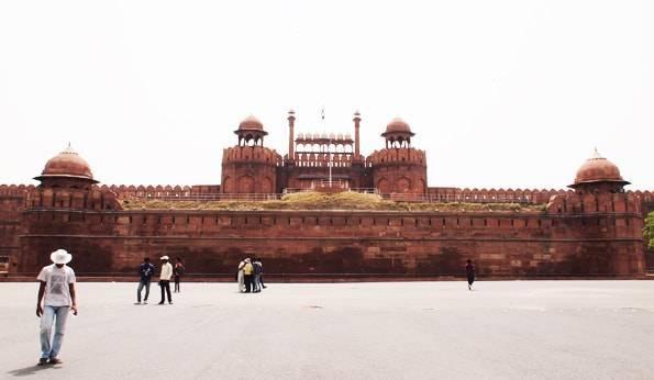 世界遺産ラール・キラー(Lal Qila)/レッド・フォート(Red Fort)