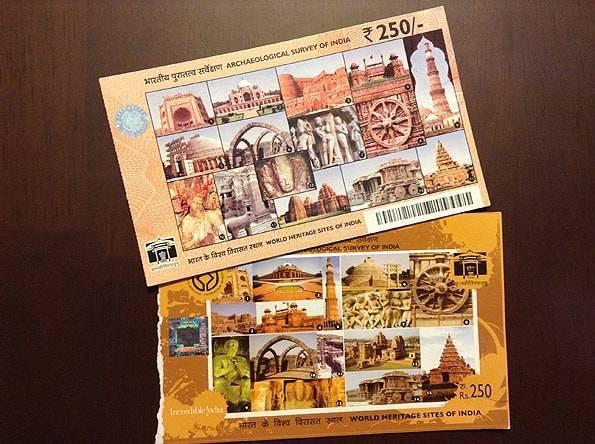 インドデリーの世界遺産「フマーユーン廟」の入場チケット