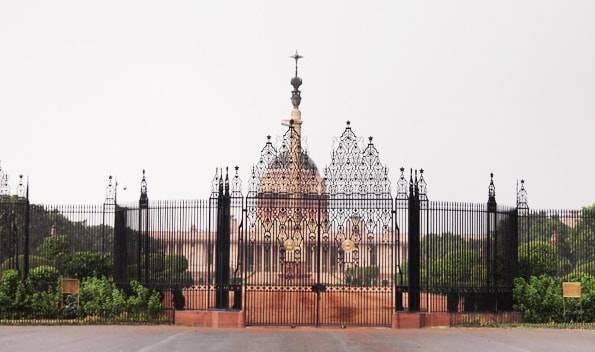 インドデリーの大統領官邸(rashtrapati bhavan)