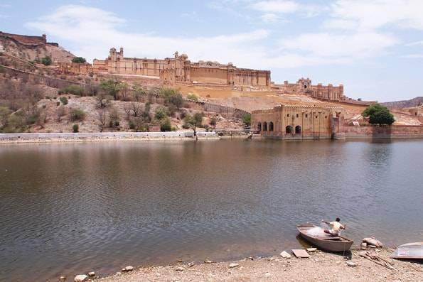 インド・ジャイプールの世界遺産アンベール城