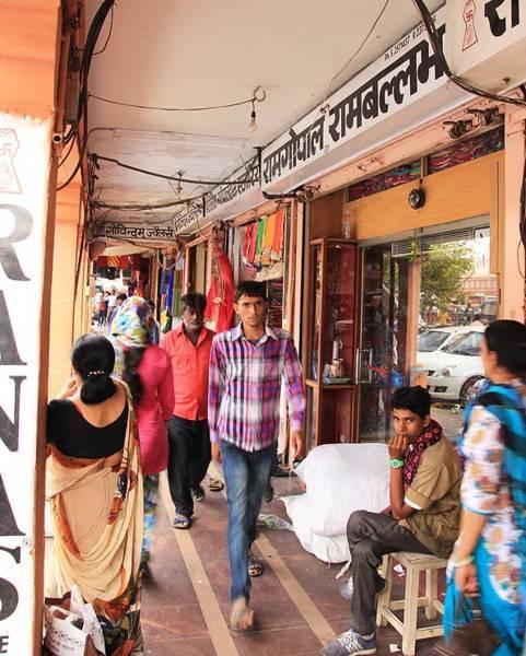 インド・ジャイプールの街並み