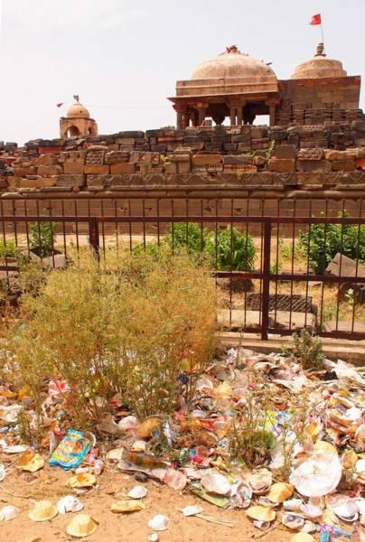 チャンドバオリの隣のお寺