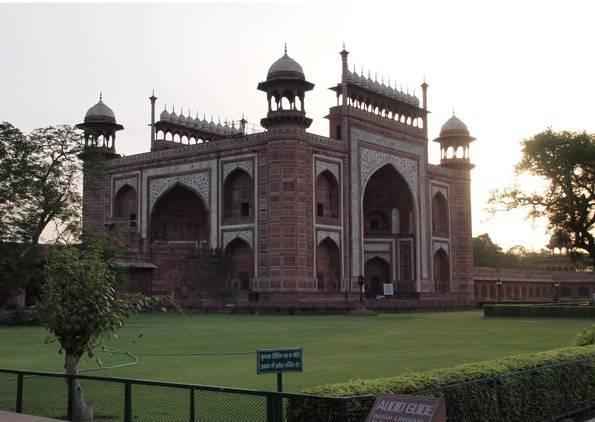 インド・アグラの世界遺産タージマハル