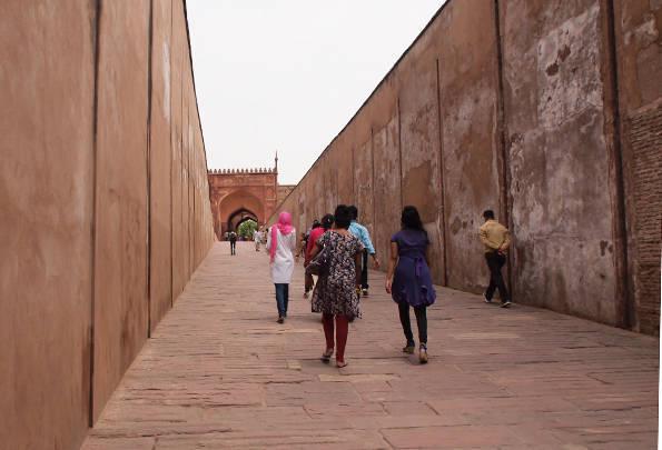世界遺産「アグラ城塞」