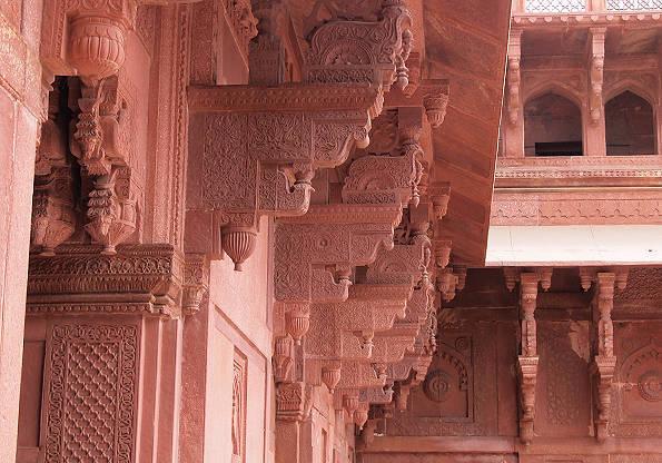 インドの世界遺産「アグラ城塞」