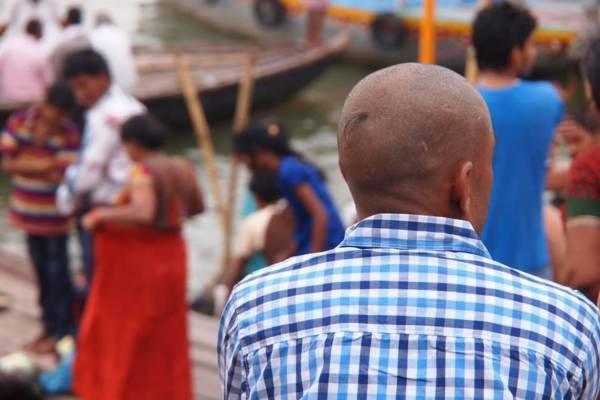 インド・バラナシのガンジス川