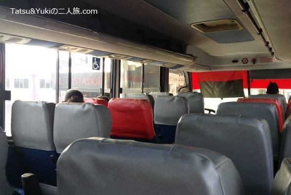 サンホセからサラピキ行きのバス