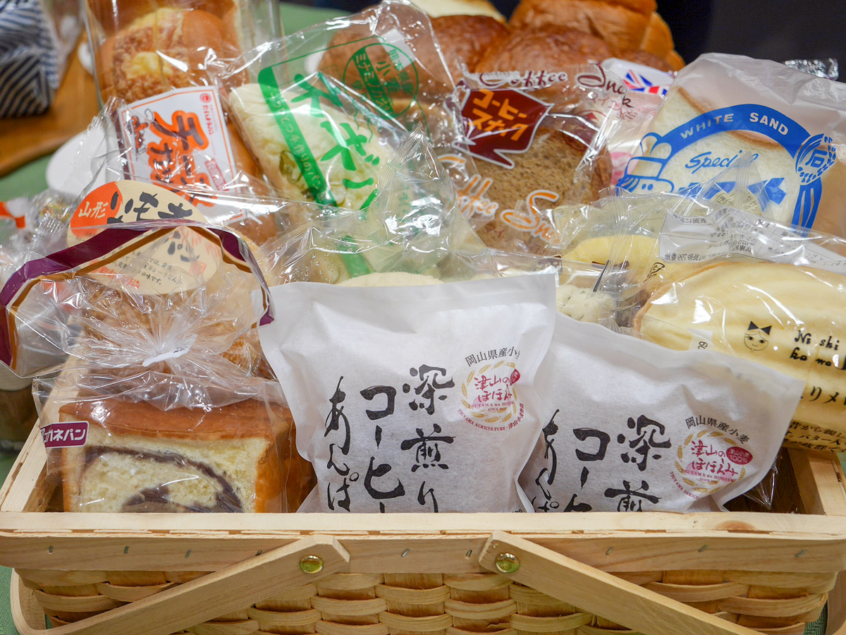 30県から約120種類の「ご当地パン」が大集合