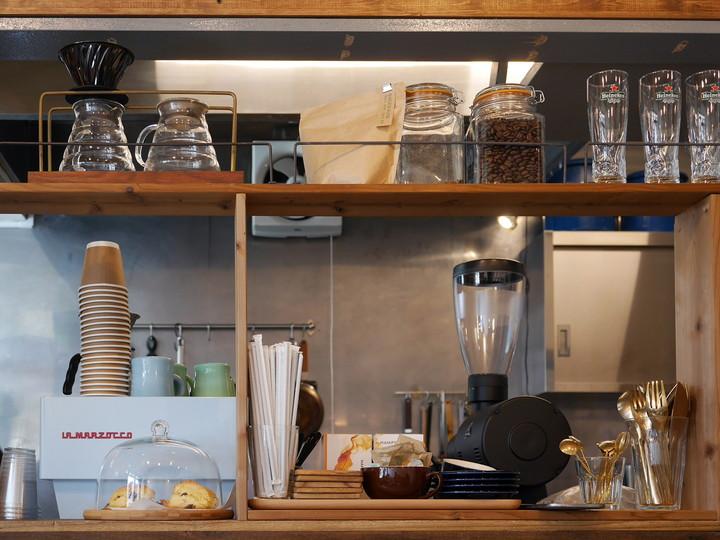 横浜・山手 Little Village Cafe(リトルビレッジカフェ) エスプレッソマシン