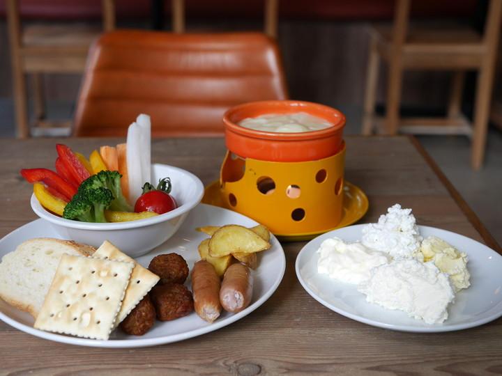 北海道 メルトテーブル チーズビュッフェランチ